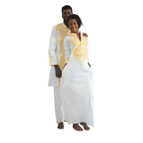 Image of Afrikan Couple Dashiki Clothing - AVM