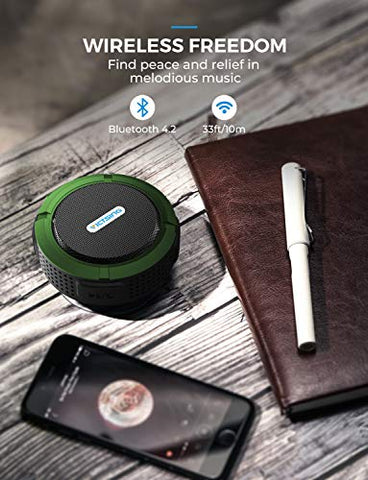 Waterproof Bluetooth Speaker - AVM