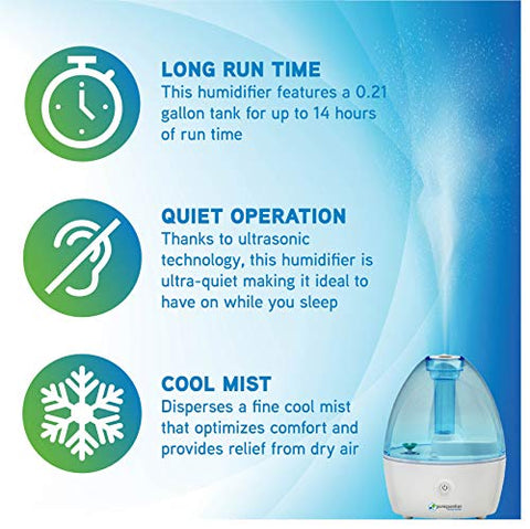 Image of Pure Guardian H910BL Ultrasonic Cool Mist Humidifier - AVM