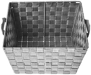 Woven Baskets, Gray, 2-Pack