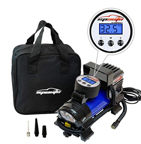 12V DC Portable Air Compressor Pump - AVM
