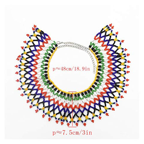 Multicolor Afrikan Necklace - AVM
