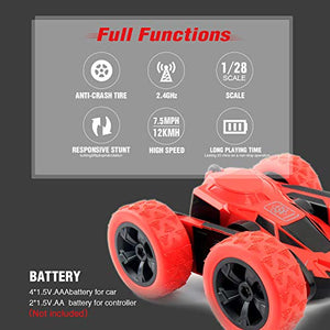 RC Cars Stunt Car Toy, 4WD 2.4Ghz Remote Control Car