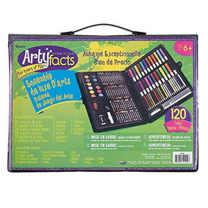 120-Piece Deluxe Art Set