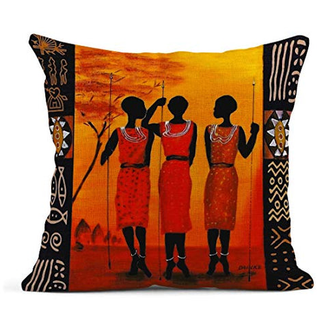 Image of Set of 4 Pillow Covers - AVM