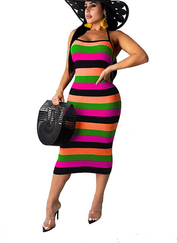 Jamaican Dress Clubwear Beach Dress - AVM