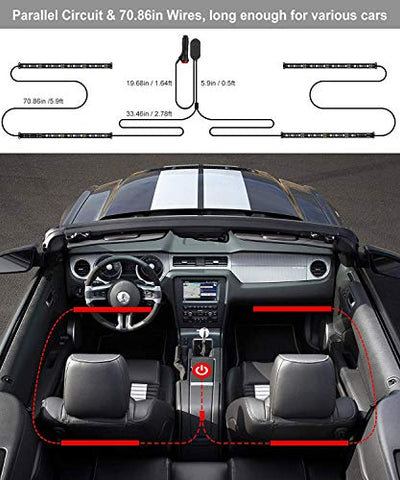Image of Interior Car Lights - AVM