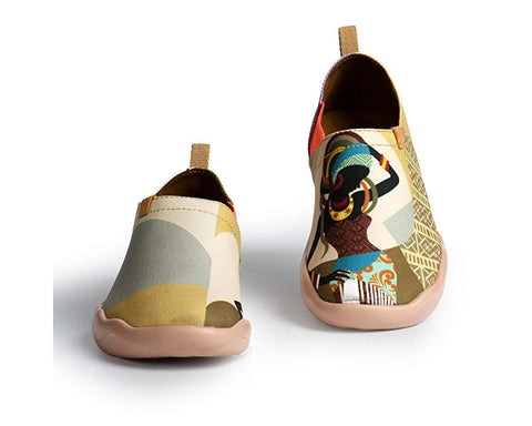 Women's Afrikan Painted Slip-on Shoe - AVM