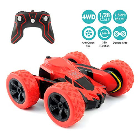 RC Cars Stunt Car Toy, 4WD 2.4Ghz Remote Control Car - AVM
