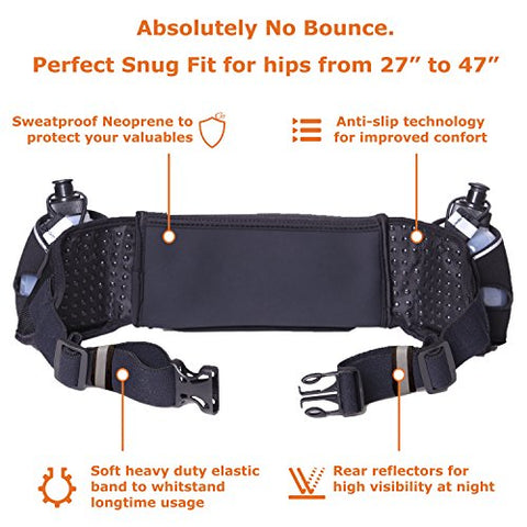 Image of Hydration Belt] Winners' Running Fuel Belt - AVM