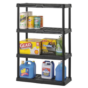 2 pack Plastic Shelving