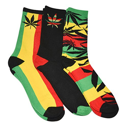 Men's Marijuana Leaf Socks - AVM