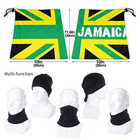 Image of Free UV Face Mask - Jamaican Kingdom Flag - AVM
