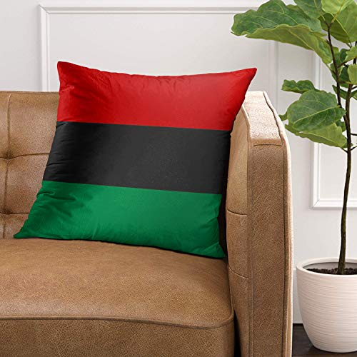 Pan Afrikan Black Decorative Pillow Case