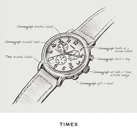 Image of Chronograph Quartz 40mm Watch - AVM