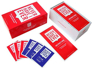 Never Have I Ever -- Hilarious and Strategic New Card Game to Play with Your Friends! Best for Parties, Game Nights, etc. Back-Slapping Laughter All Night Long! for Ages 17+