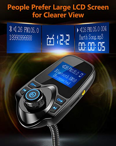 Image of Bluetooth Car FM Transmitter - AVM