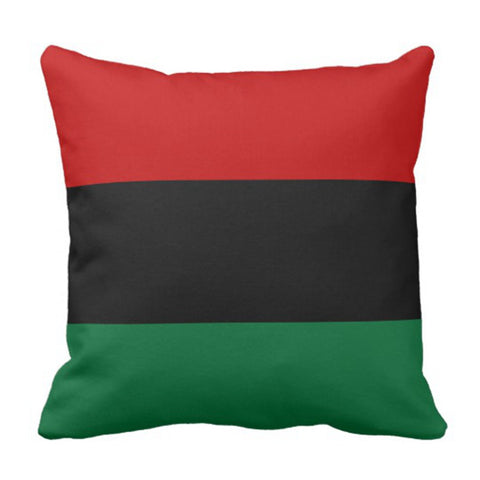 Image of Pan Afrikan Black Decorative Pillow Case