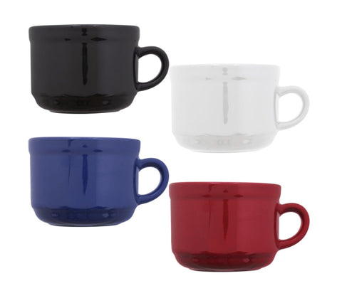 Image of Stoneware Mugs- 4 Count - AVM
