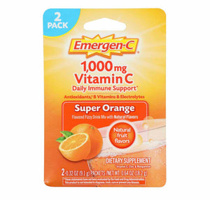 Emergen-C Super Orange Daily Immune Support Dietary Supplement - AVM