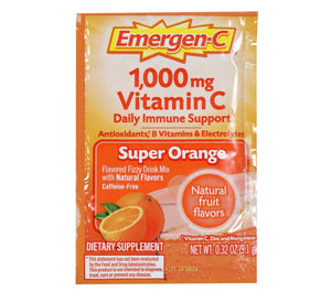 Emergen-C Super Orange Daily Immune Support Dietary Supplement