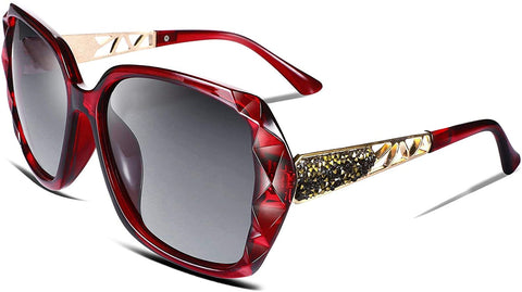 Image of Women Sunglasses Sparkling Composite Frame - AVM