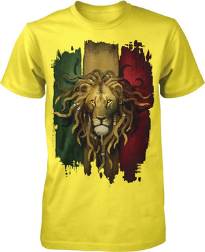 Rastafarian Lion Men's T-Shirt - AVM