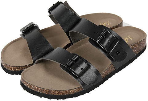Womens Slide Sole Sandals - AVM