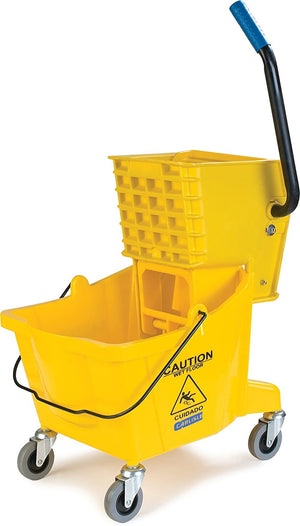 Mop Bucket with Side Press Wringer - AVM