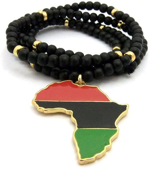 Jewelers Multicolor Afrika Necklace - AVM