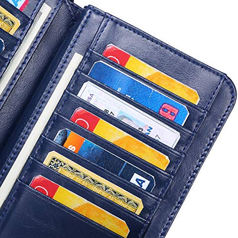Image of Women's Wallets, Large Capacity with RFID Protection - AVM