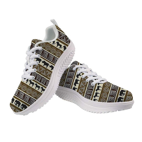 Image of Vintage Afrikan Swing Sneakers for Women A134 - AVM