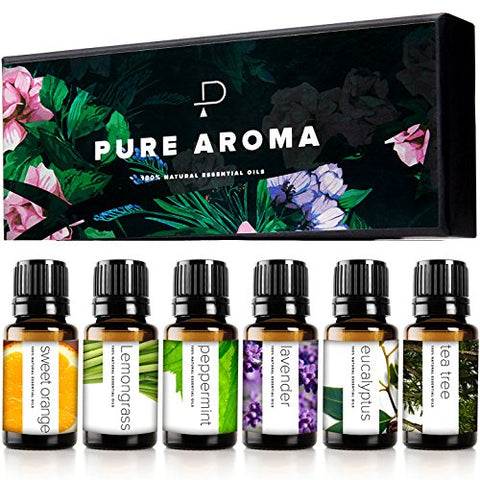 Image of Top 6 Aromatherapy Oils Set-6 Pack - AVM
