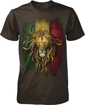 Rastafarian Lion Men's T-Shirt