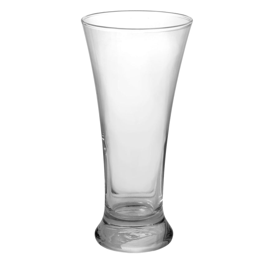 Flared Glass Pilsner Glasses-4 count - AVM