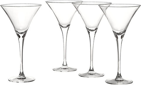 Image of Oliver Glass Martini Glasses- 4 count - AVM