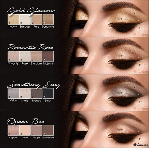Image of Best Pro Eyeshadow Palette Makeup - AVM