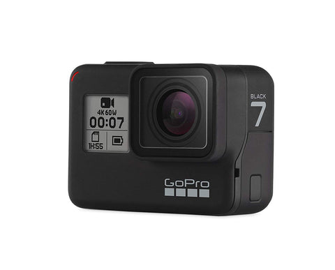 GoPro HERO7 Black  Waterproof Digital Action Camera with Touch Screen 4K HD Video 12MP Photos Live Streaming Stabilization