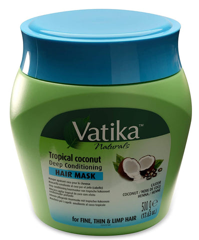 Dabur Vatika Refreshing Deep Conditioning Hair Mask Treatment Cream - AVM