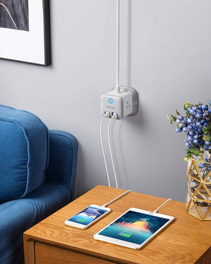 Vertical Cube Mountable Power Outlet