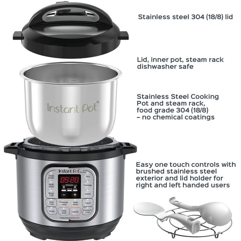 Image of 7-in-1 Multi- Use Programmable Pressure Cooker - AVM