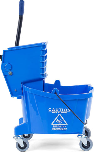 Mop Bucket with Side Press Wringer