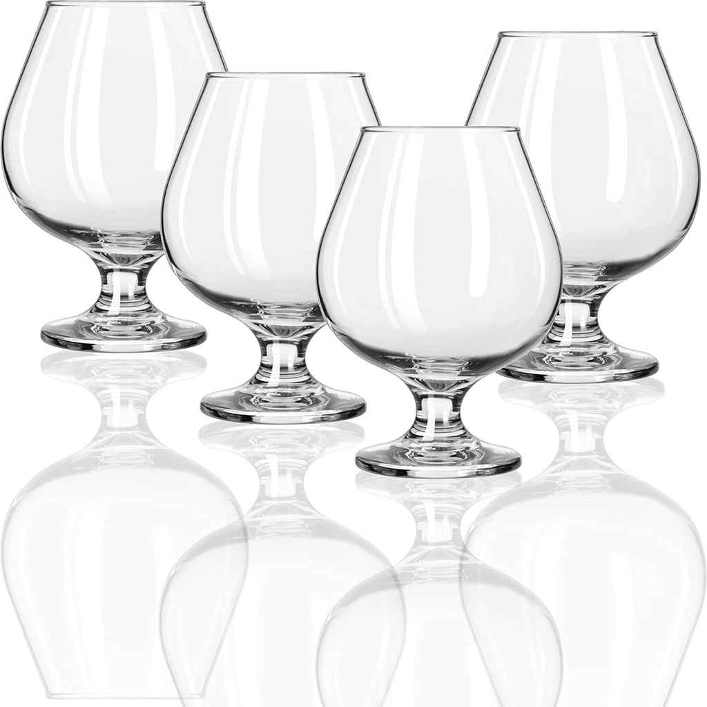 Clear Glass Brandy Snifters- 6 glasses - AVM