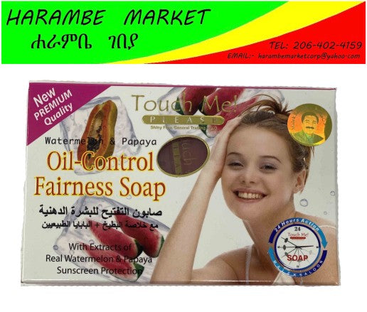 Touch me Oil-Control Fairness Soap - AVM