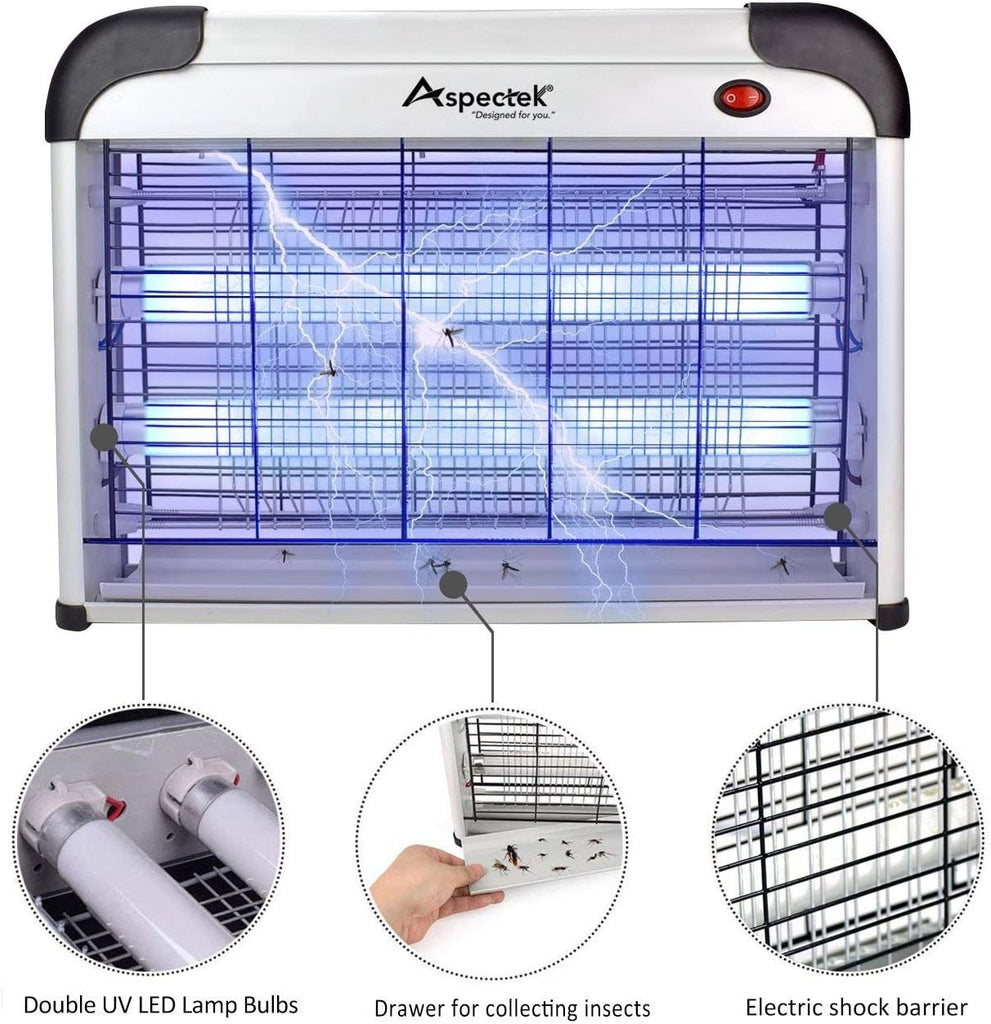 20W Electronic Bug Zapper, Insect Killer - AVM