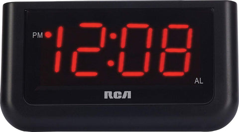 "Image of Digital Alarm Clock with Large 1.4"" Display - AVM"