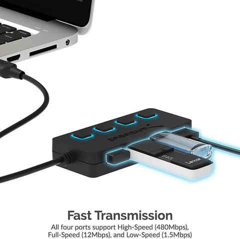 4-Port USB 2.0 Hub - AVM