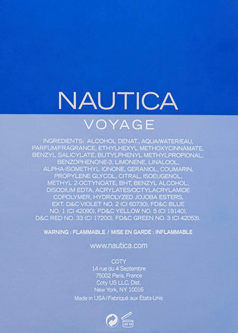 Nautica Voyage Eau de Toilette Spray for Men - AVM