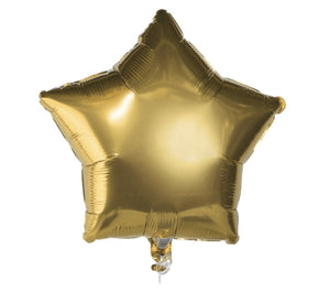 Star Foil Balloons-3 count