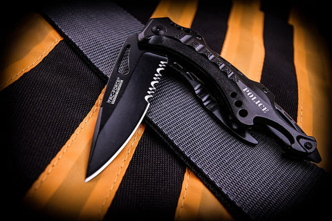 Tac-Force Tactical Spring Assisted Knife - AVM